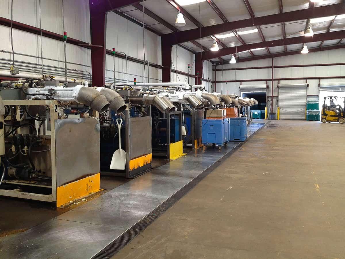 nexair carbonics dry ice facility